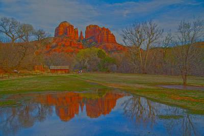 Photograph - Cathedral Rock 9613 by Tom Kelly