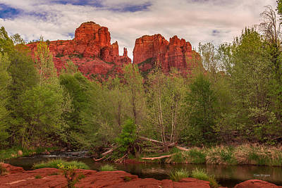 Photograph - Cathedral Rock And Oak Creek by Tim Bryan
