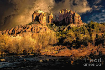 Photograph - Cathedral Rock by Jon Burch Photography