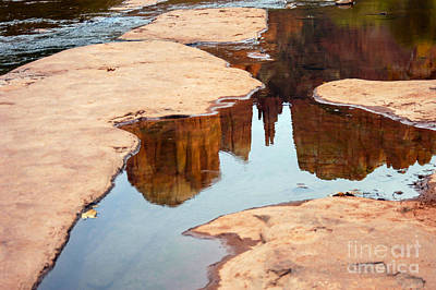 Cathedral Rock Art Print by Bob Phillips