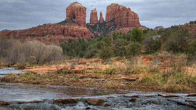 Cathedral Rock Art Print by Darlene Bushue