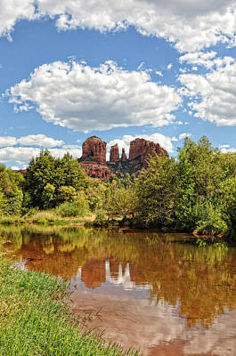 Photograph - Cathedral Rock by David Armstrong
