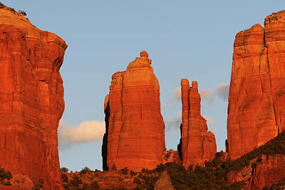Cathedral Rock Photograph - Cathedral Rock by Jose More