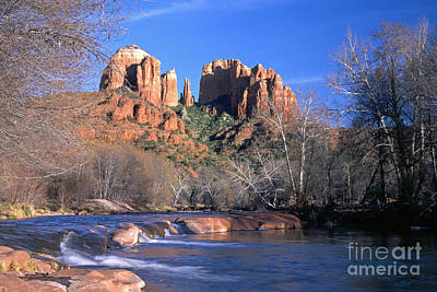 Cathedral Rock Photograph - Cathedral Rock by King Wu