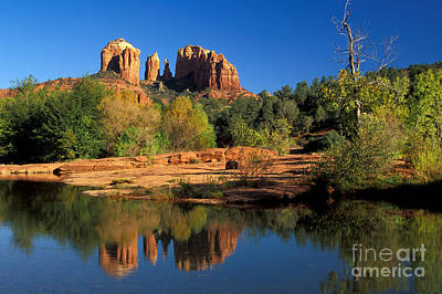 Cathedral Rock Art Print by Mark Newman