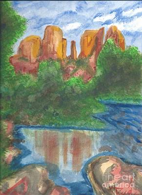 Painting - Cathedral Rock by Reed Novotny