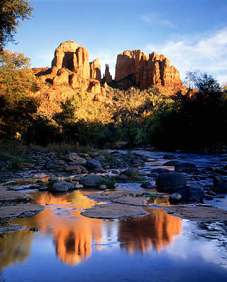Sedona Photograph - Cathedral Rock Sedona Az Usa by Panoramic Images