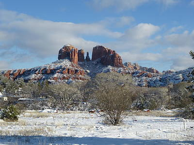 Cathedral Rock Sedona Art Print by Marlene Rose Besso