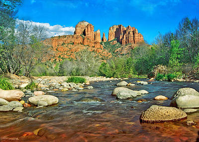 Photograph - Cathedral Rock Sedona by Steven Barrows