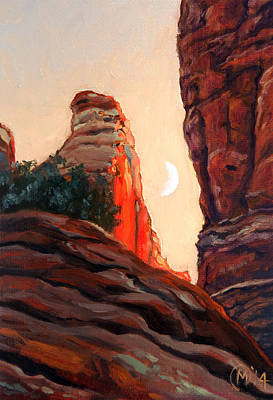 Painting - Cathedral Rock Spire by Maurice Morgan II