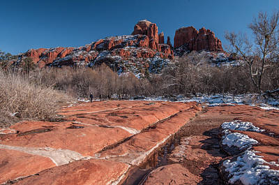 Photograph - Cathedral Rock Winter by Tam Ryan