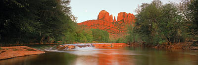 Cathedral Rocks In Coconino National Art Print by Panoramic Images