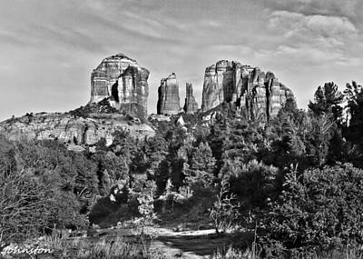 Photograph - Cathedral Rocks Red Rock State Park Arizona by Bob and Nadine Johnston