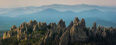 Cathedral Rock Wall Art - Photograph - Cathedral Spires by Daniel J Barr
