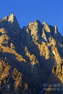 Cathedral Spires Mountain Peaks Karakorum Art Print by Robert Preston