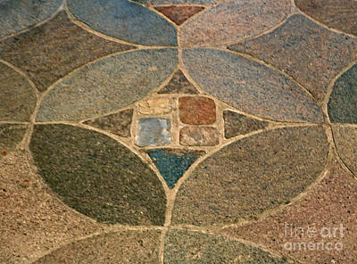 Photograph - Cathedral Stone Floor by Val Miller