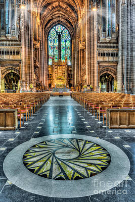 Altar Art Photograph - Cathedral Way by Adrian Evans
