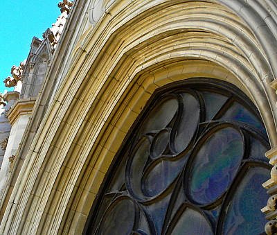 Photograph - Cathedral Window by Jp Grace