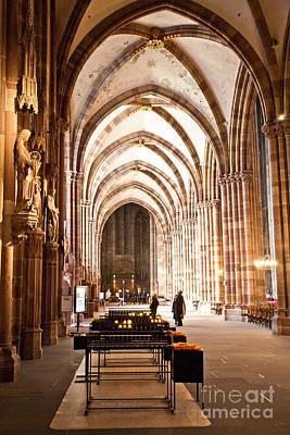 Cathedrale Notre Dame De Strasbourg France Art Print