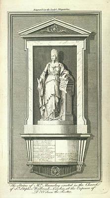 Catherine Macaulay Art Print by British Library