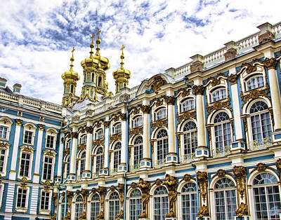 Catherine Palace - St Petersburg Russia Print by Jon Berghoff