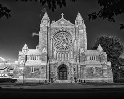 Photograph - Catholic Church Greensburg by Coby Cooper