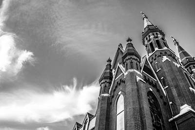 Photograph - Catholic Church In Downtown Birmingham by Shelby  Young