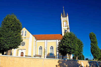 Photograph - Catholic Church In Molve Croatia by Brch Photography