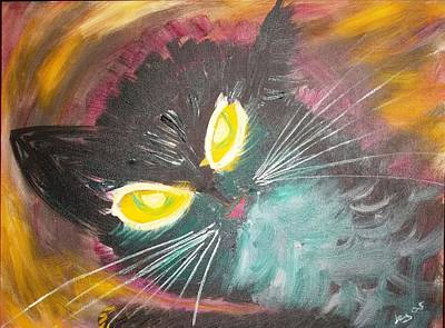 Painting - Catrem by Leslie Byrne