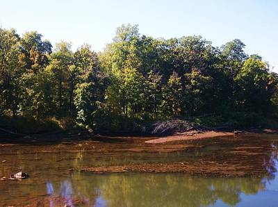Photograph - Catskill Creek - Early Fall Reflections by Ellen Levinson