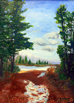 Painting - Catskill Forest After The Rain by Rick Carbonell