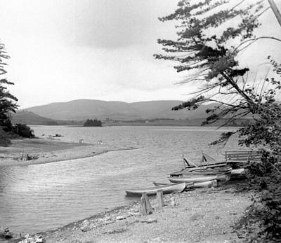 Photograph - Catskill Lake by William Haggart