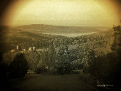 Photograph - Catskill Mountains New York  Barn-shandelee - Featured In Comfortable Art And All About Ny Groups by Ericamaxine Price
