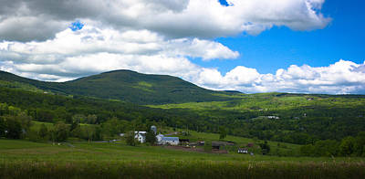 Photograph - Catskill New York Farm by Kenneth Cole