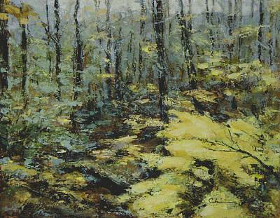 Painting - Catskills-3 by Chisho Maas