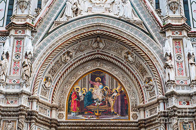 Photograph - Cattedrale Di Santa Maria Del Fiore by Luis Alvarenga
