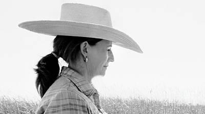 Alvord Desert Wall Art - Photograph - Cattlewoman by Michele AnneLouise Cohen