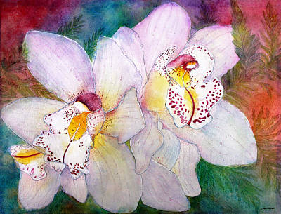 Painting - Cattleya by Janet Immordino