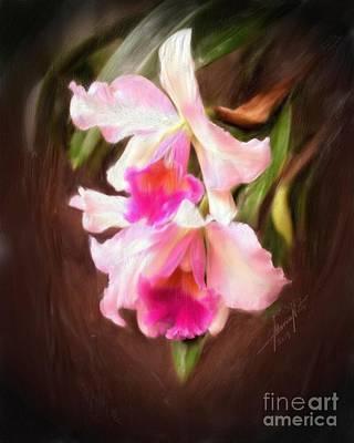 Cattleya Art Print by Marvin Nuto