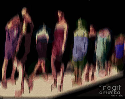 Digital Art - Catwalk by Pedro L Gili