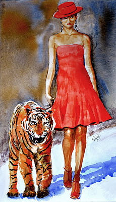 Painting - Catwalk by Steven Ponsford