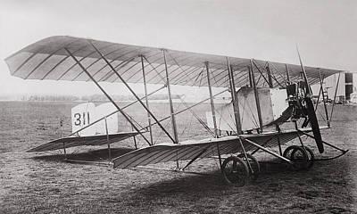 Caudron G2 Biplane C. 1912 Art Print by Daniel Hagerman