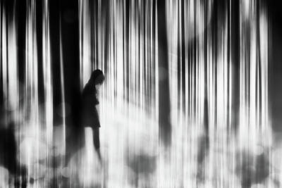 Blur Photograph - Caught In The Sorrow by Stefan Eisele