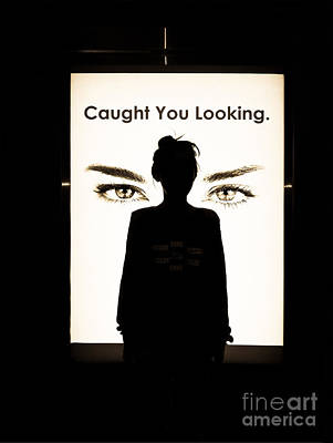 Photograph - Caught You Looking Beige by Fei A