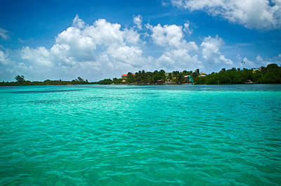 Photograph - Caulker Cay Belize by Kristina Deane