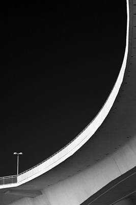 Photograph - Causeway Arc Clearwater Florida Black And White by David Smith