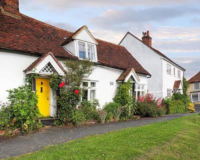 Photograph - Causeway Cottages Finchingfield by Gill Billington