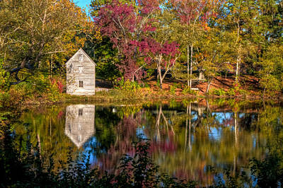 Photograph - Causey's Mill 1866 by Jerry Gammon