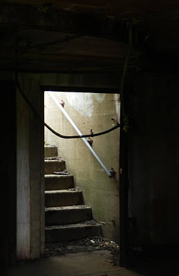 Photograph - Cautionary Stairs by Marcia Lee Jones