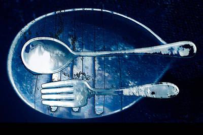 Blue Luster Art Print by Don Gradner